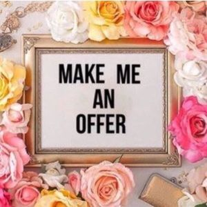 Hi Make me an offer! 🙌🏼